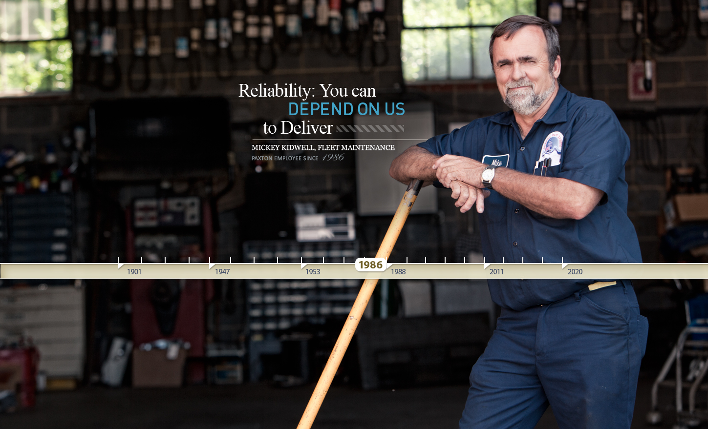 RELIABILITY: You can depend on us